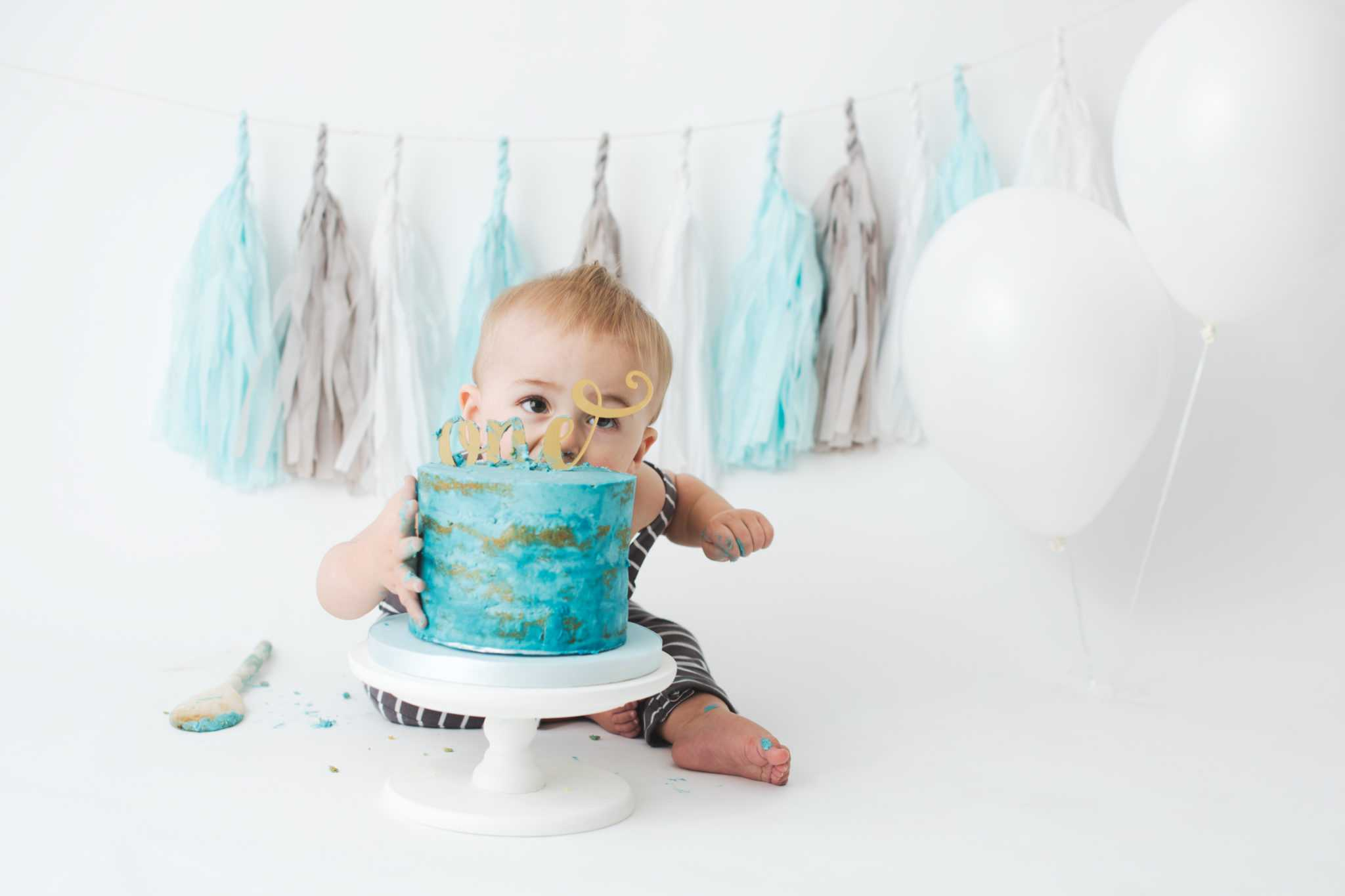 Baby Boy Cake Smash Stockport