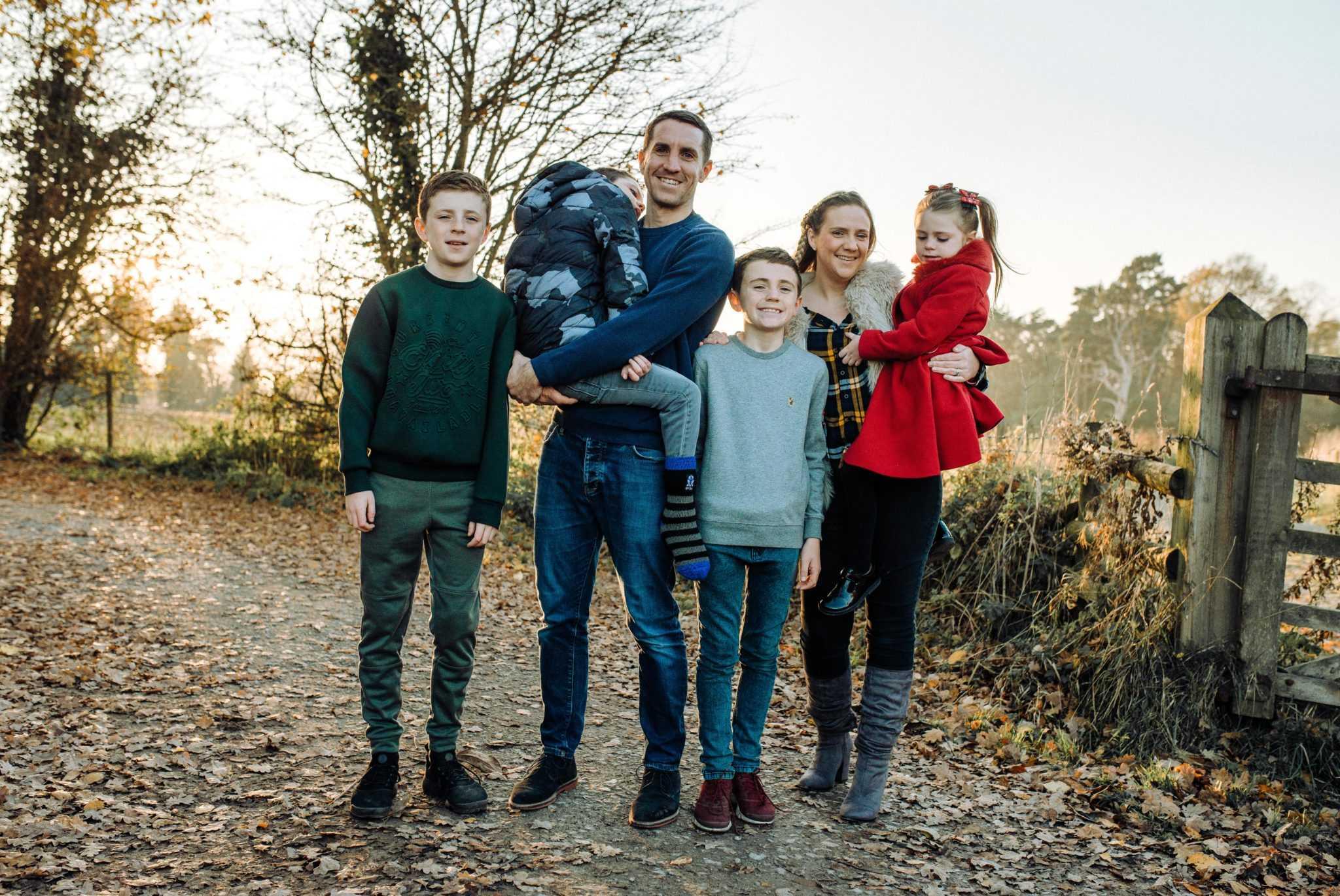 Family Portrait Photographer Poynton