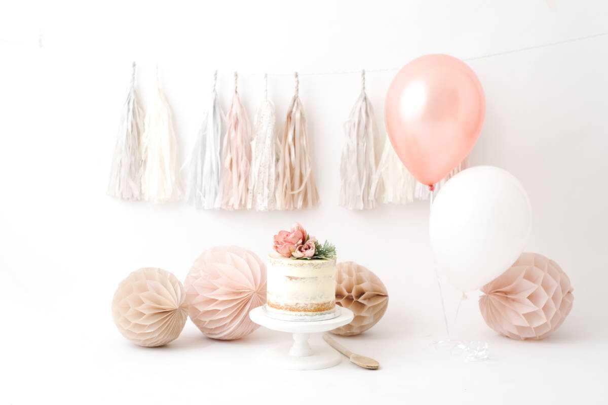 Pink Baby Cake Smash Ideas Poynton