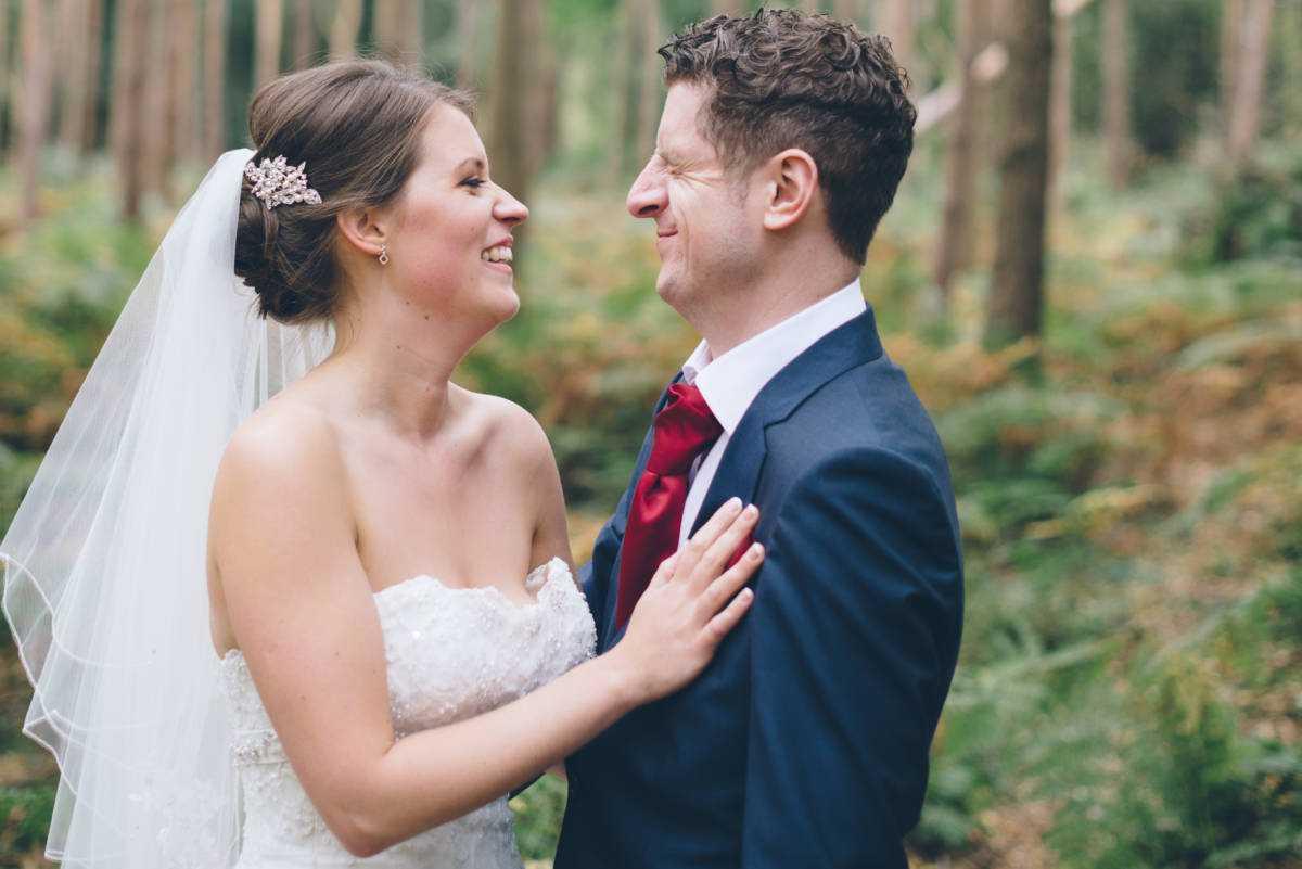 Stockport Photographers photos of Peckforton Castle Winter wedding
