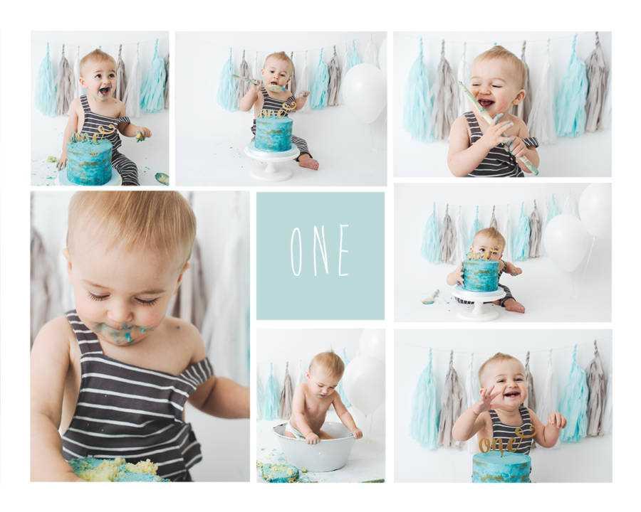 Smash Cake Photo Shoot Stockport