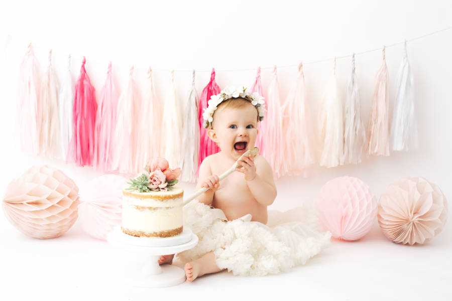 1st Birthday Cake Smash Bramhall