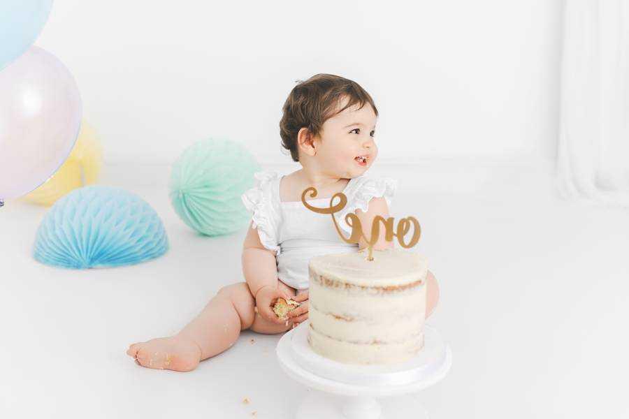 Boys Blue 1st Birthday Cake Smash Poynton
